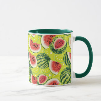 Wassermelone-Muster 2 Tasse