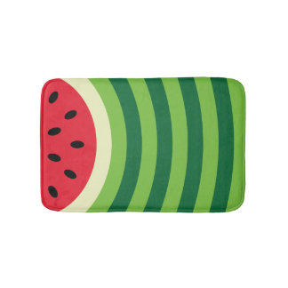 Wassermelone-Muster Badematte