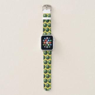 Wassermelone-Muster-Dreieck-Schnitt Apple Watch Armband