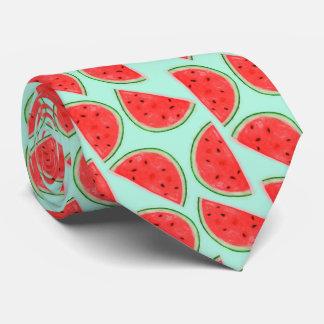 Wassermelone-Muster-Krawatte Krawatte