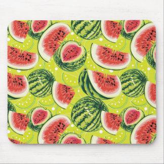 Wassermelone-Muster Mousepads