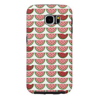 Wassermelone-Muster-Samsung-Galaxie-starker Kasten