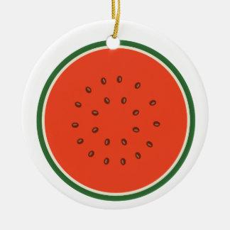Wassermelone nach innen keramik ornament
