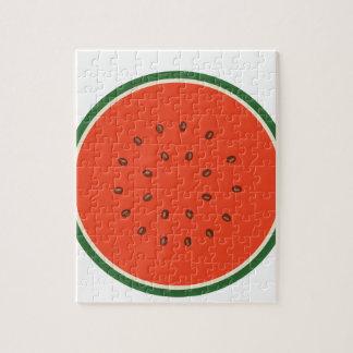 Wassermelone nach innen puzzle