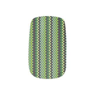 Wassermelone - nailart minx nagelkunst
