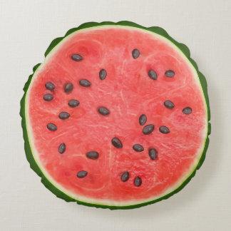 Wassermelone-Neuheits-Kissen Rundes Kissen