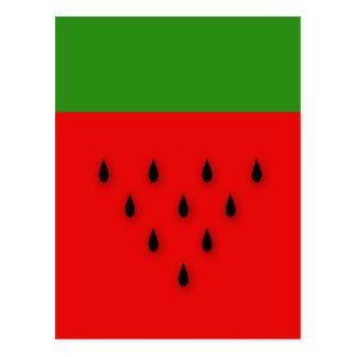 Wassermelone! Postkarte