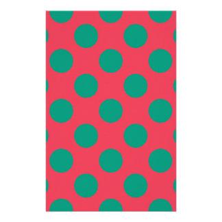 Wassermelone-Punkt Briefpapier