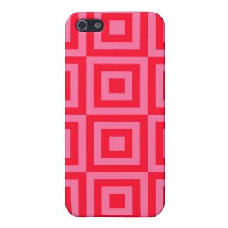 Wassermelone-rosa Fliesen iPhone 5 Case