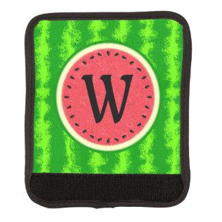 Wassermelone-Scheibe-Sommer-Frucht mit Koffergriffwickel