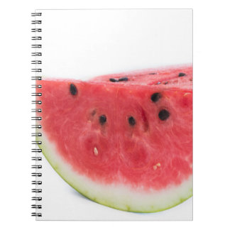 Wassermelone Spiral Notizblock