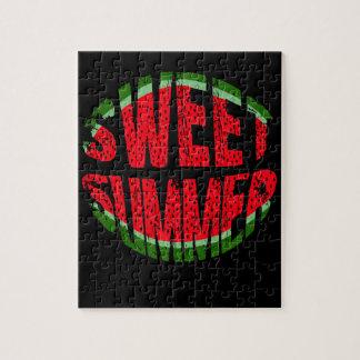 Wassermelone - süßer Sommer Puzzle