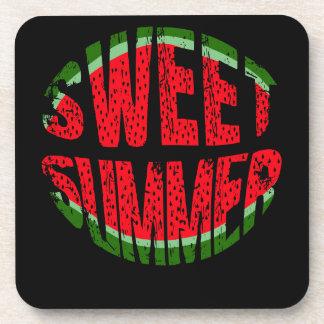 Wassermelone - süßer Sommer Untersetzer