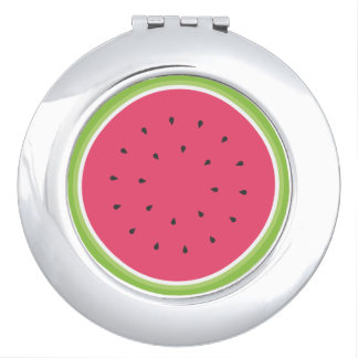 Wassermelone Taschenspiegel