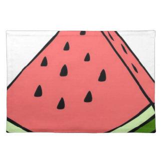 Wassermelone Tischset