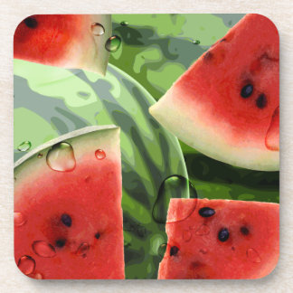 Wassermelone-Untersetzer Untersetzer