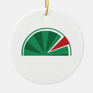 Wassermeloneentwurf Keramik Ornament