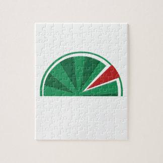 Wassermeloneentwurf Puzzle
