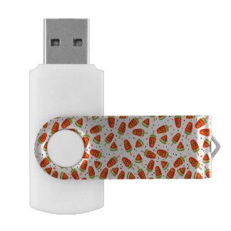 Wassermelonemuster USB Stick