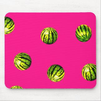 Wassermelonemusterrosa Mousepad