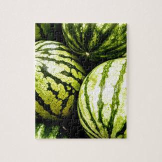 Wassermelonen Puzzle