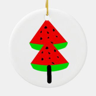 WassermeloneObstbaum Keramik Ornament