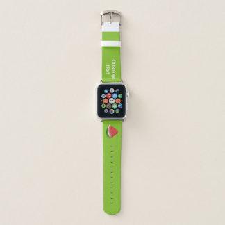 Wassermelonescheibe Apple Watch Armband