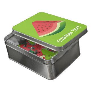 Wassermelonescheibe Puzzle