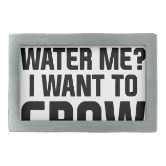 Wässern Sie mich Rechteckige Gürtelschnalle