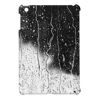 Wässern Sie Tropfen-Kristall - klare feine Glasfli iPad Mini Hülle