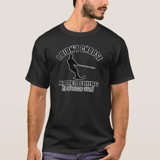 Wasserskientwürfe T-Shirt
