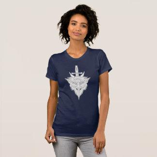 Wasserspeier-Illustration T-Shirt