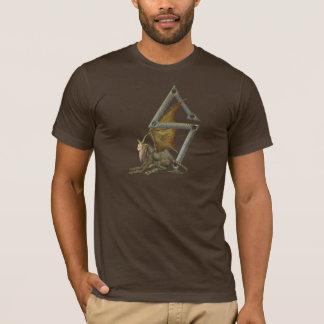 Wasserspeier-Monogramm Z T-Shirt