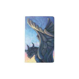 Wasserspeier-Wächter Moleskine Taschennotizbuch