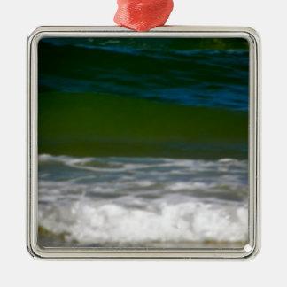 wässert edge.JPG Quadratisches Silberfarbenes Ornament