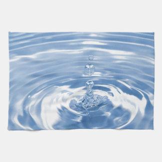 Wassertropfen Geschirrtuch