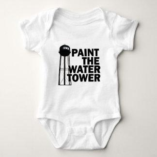 Wasserturm Baby Strampler