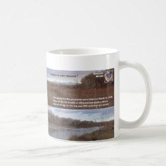 Wasservorkommen V - Rio Grande in Albuquerque Kaffeetasse