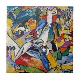 Wassily Kandinsky - abstrakte Kunst der Keramikfliese