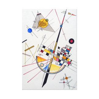 Wassily Kandinsky empfindliche Spannung Leinwanddruck