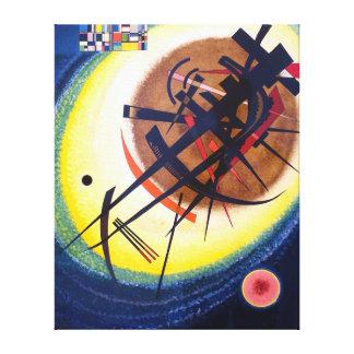 Wassily Kandinsky im hellen Oval Leinwanddruck