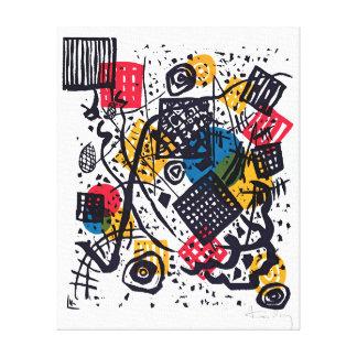 Wassily Kandinsky - kleines abstrakte Kunst der Leinwanddruck