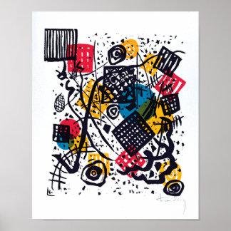 Wassily Kandinsky - kleines abstrakte Kunst der Poster