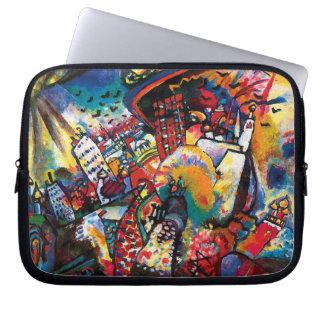 Wassily Kandinsky - Moskaucityscape-abstrakte Laptop Sleeve