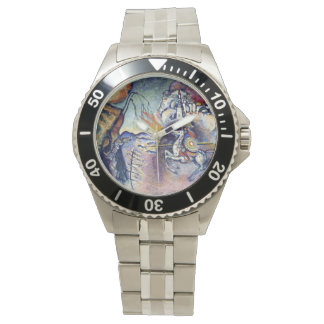 Wassily Kandinsky - St George u. die Reiter Armbanduhr