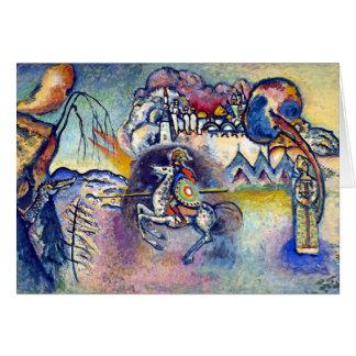 Wassily Kandinsky - St George u. die Reiter Karte