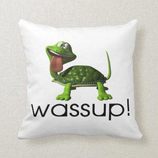 Wassup Schildkröte Kissen