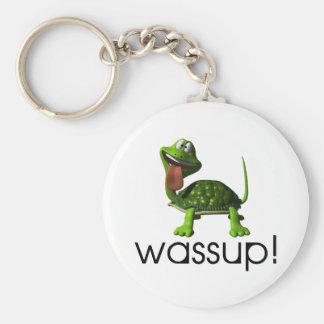 Wassup Schildkröte Schlüsselanhänger
