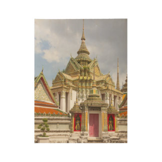 Wat Pho, Bangkok, Thailand Holzposter