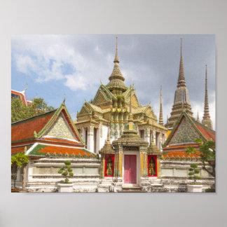 Wat Pho, Bangkok, Thailand Poster